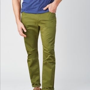 United By Blue Cartwright Pant  New Olive 36